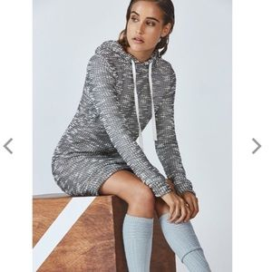 Fabletics Yukon Knit Sweater Dress Hooded Size XL